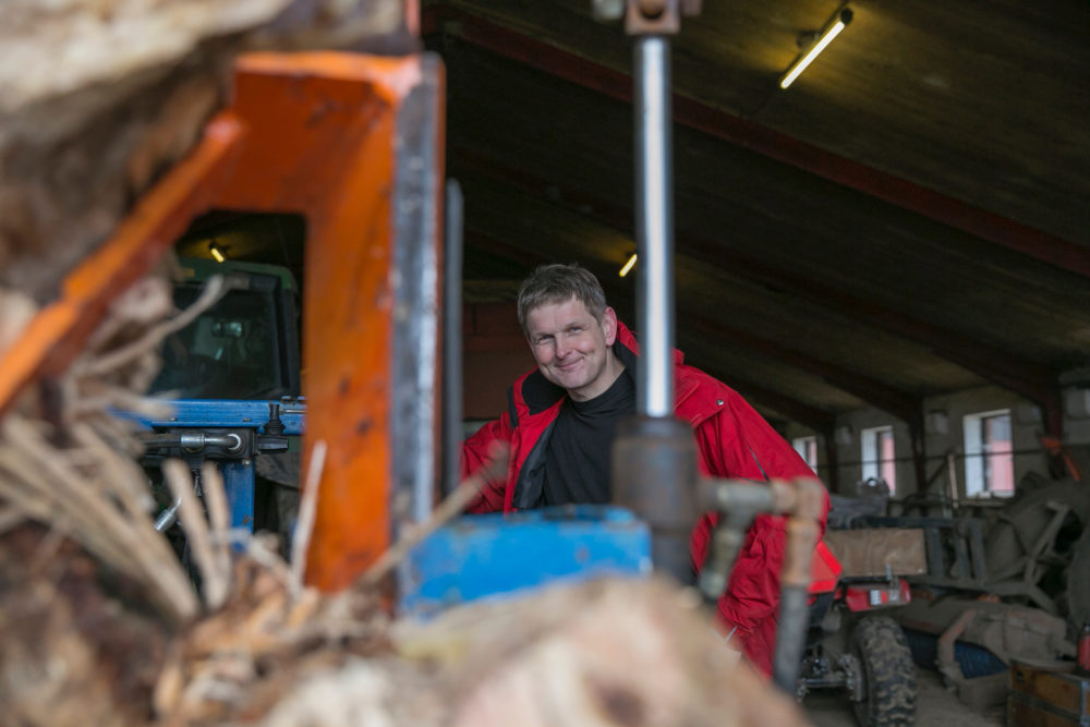 SP-Vorsitzender Carsten Leth Schmidt – ein Landwirt mit Visionen