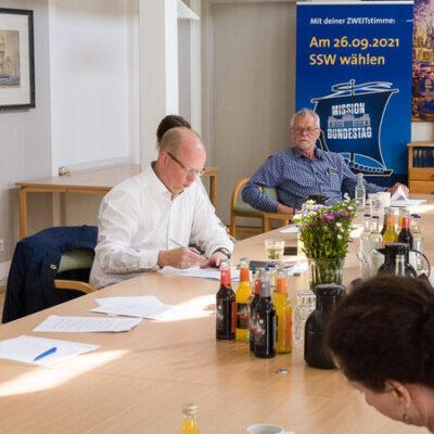 SSW und SP: Seite an Seite im Wahlkampf in Tondern